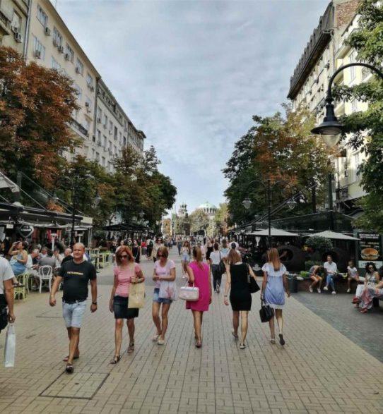 Vitosha bulevard a Sofia