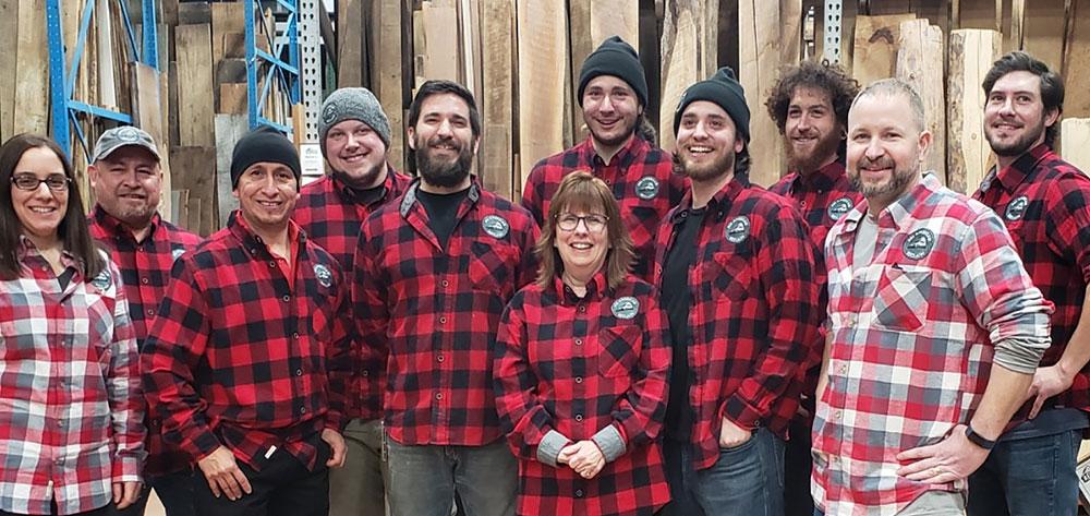 All American Reclaim staff