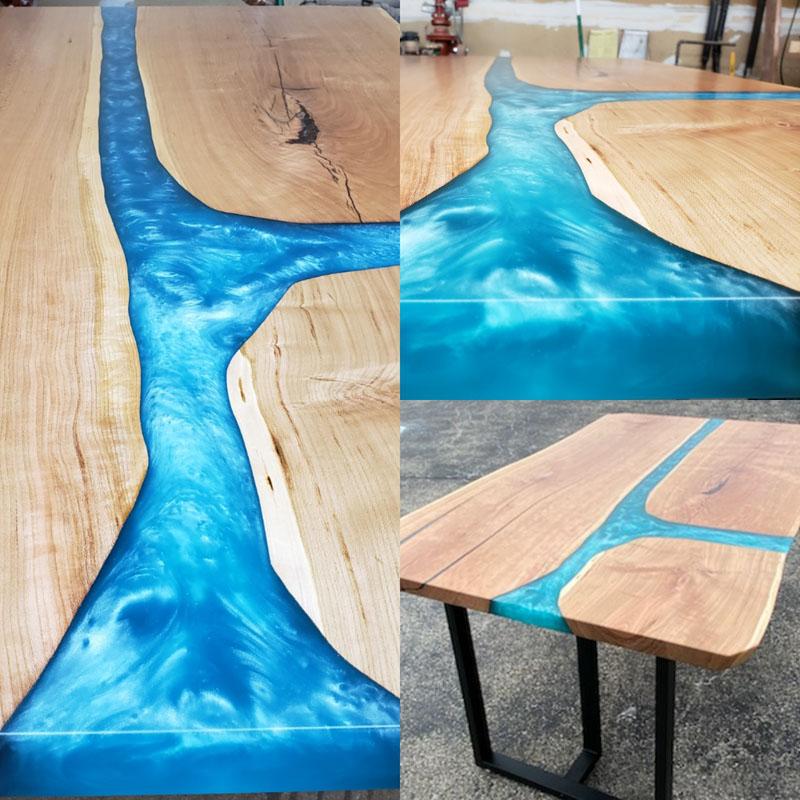 Custom. River Table