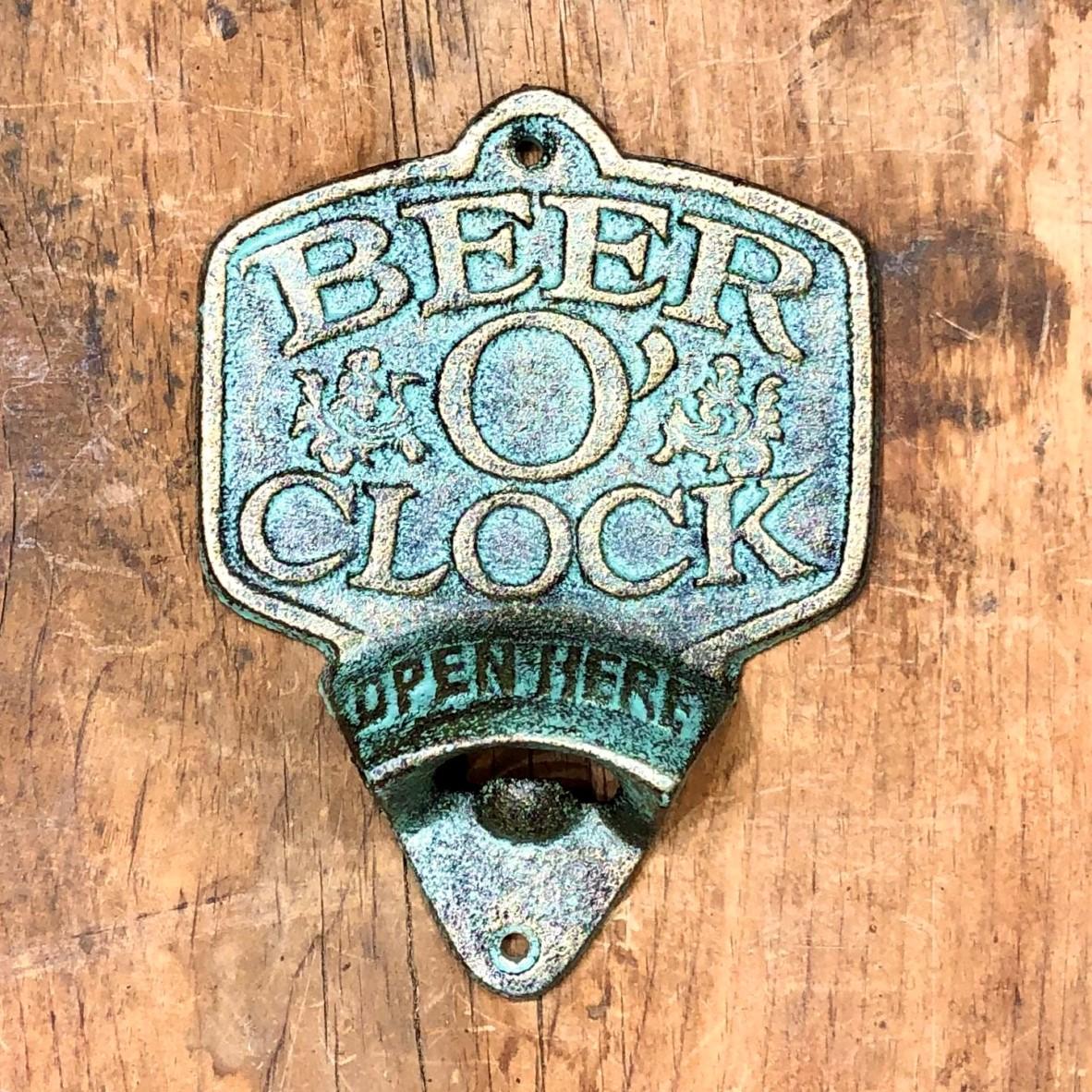 Bottle opener. Beer O Clock 2 1
