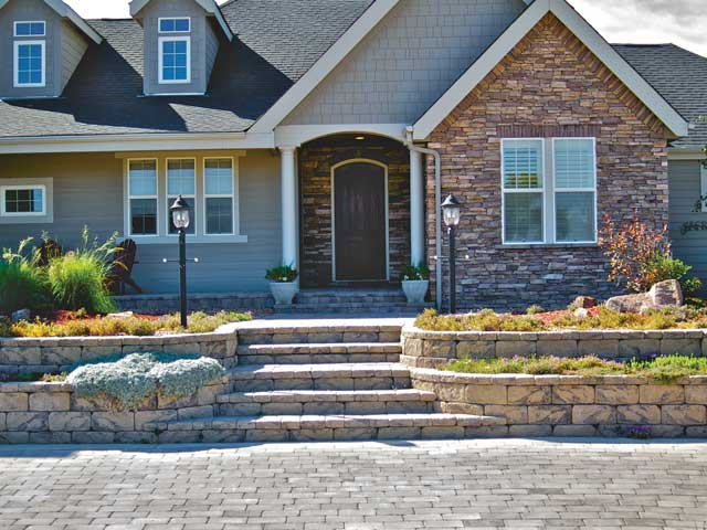 Eyestopping Curb Appeal on Terraced Front Yard Ideas id=24565