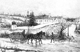 Jagdschloss Mayerling um 1880
