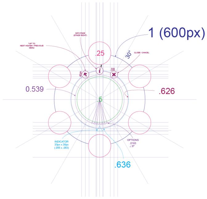 UI/UX Menu Design - Mechanicals