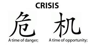 Chinese Ideograph for Crisis