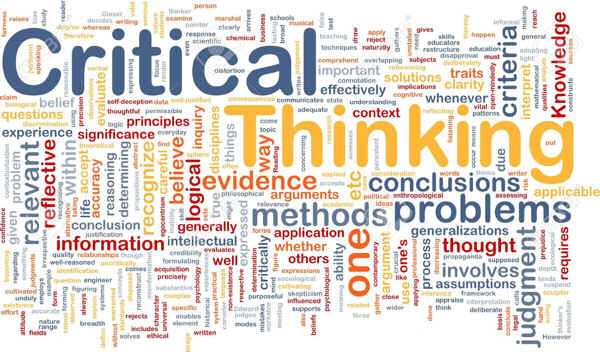 Critical Thinking: A Necessary Inference