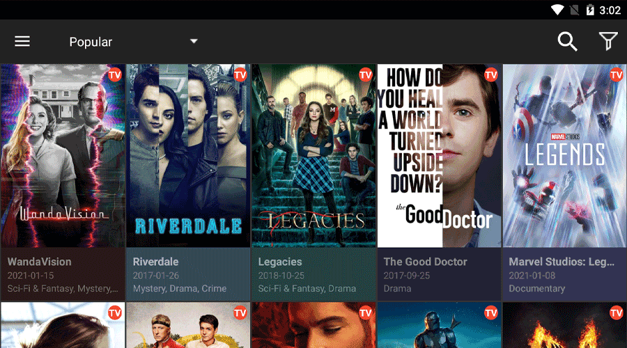 CinemaHD Beta Version Watch Unlimited Movies & Series 8
