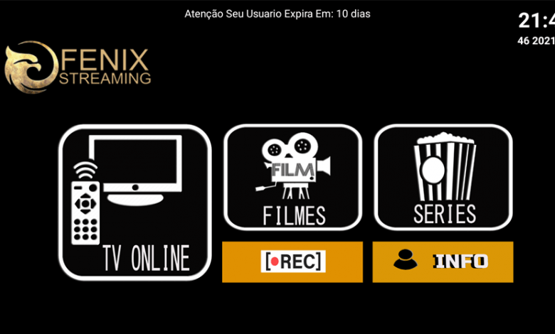 Fenix Streaming New Premium IPTV APK 1