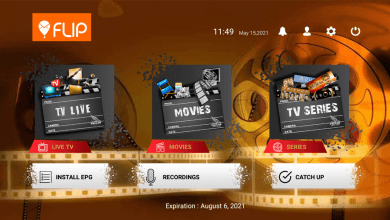 Flip IPTV Plus Premium Activation 18