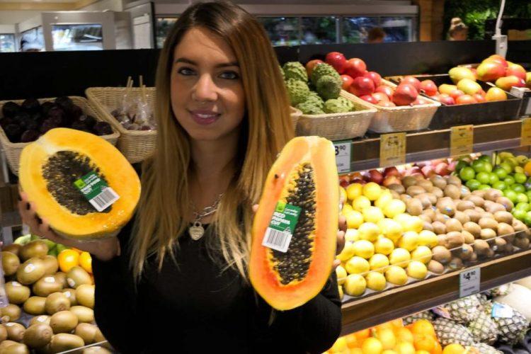 alimentazione sana a base di papaya