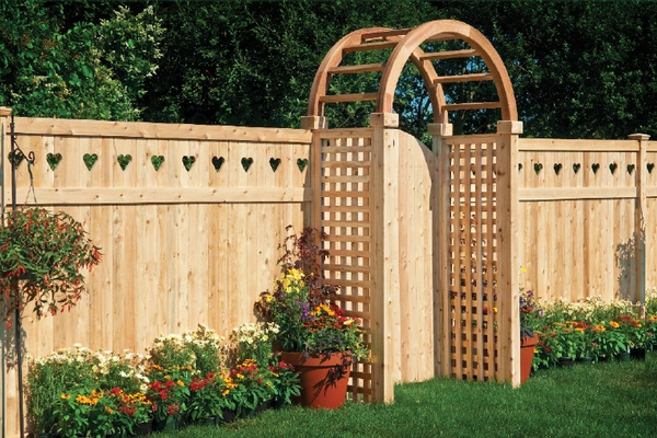 Add A Decorative Top To Your Fence