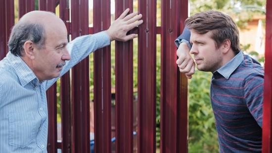 Neighbor's Ugly Fence