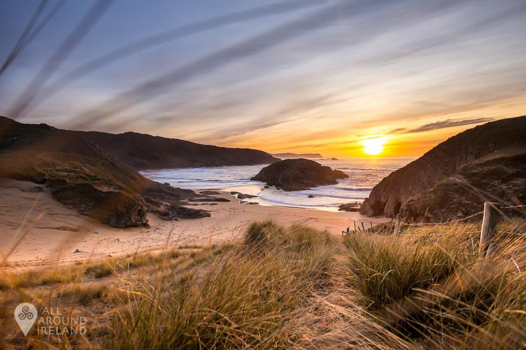 Sunset at Murder Hole Beach