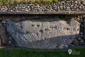Carvings at Newgrange