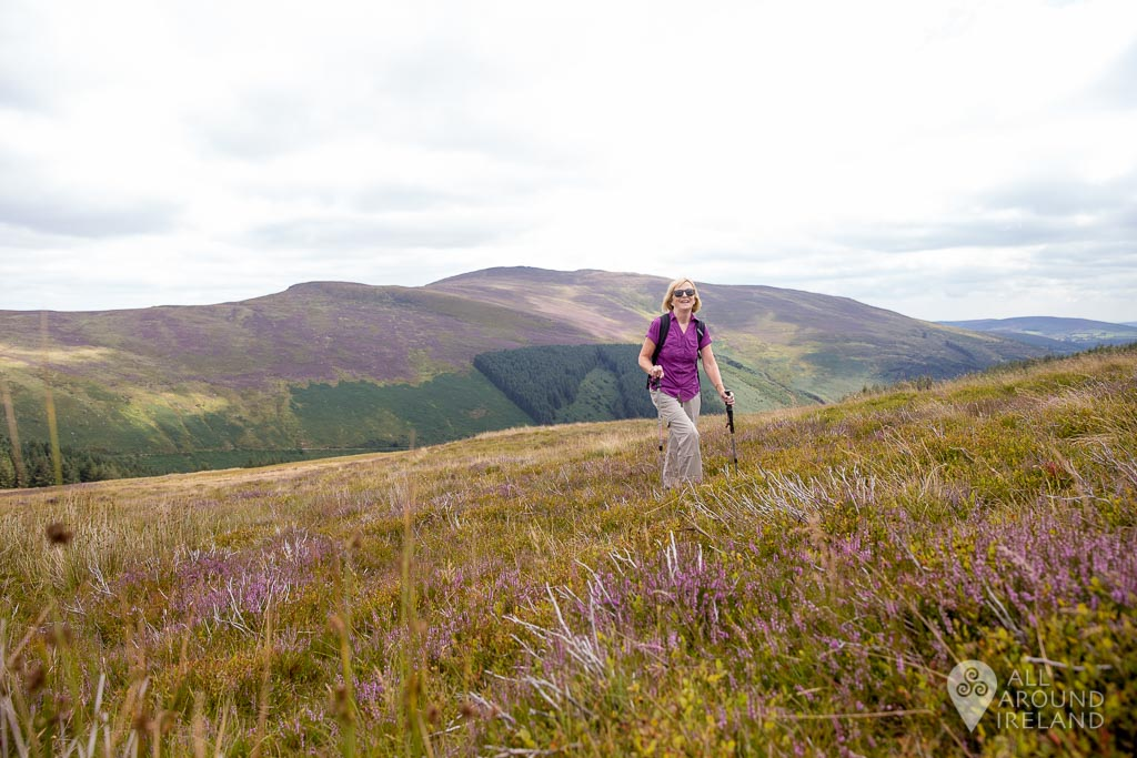 The walk is quite tough and the ground very uneven getting to Lough Ouler