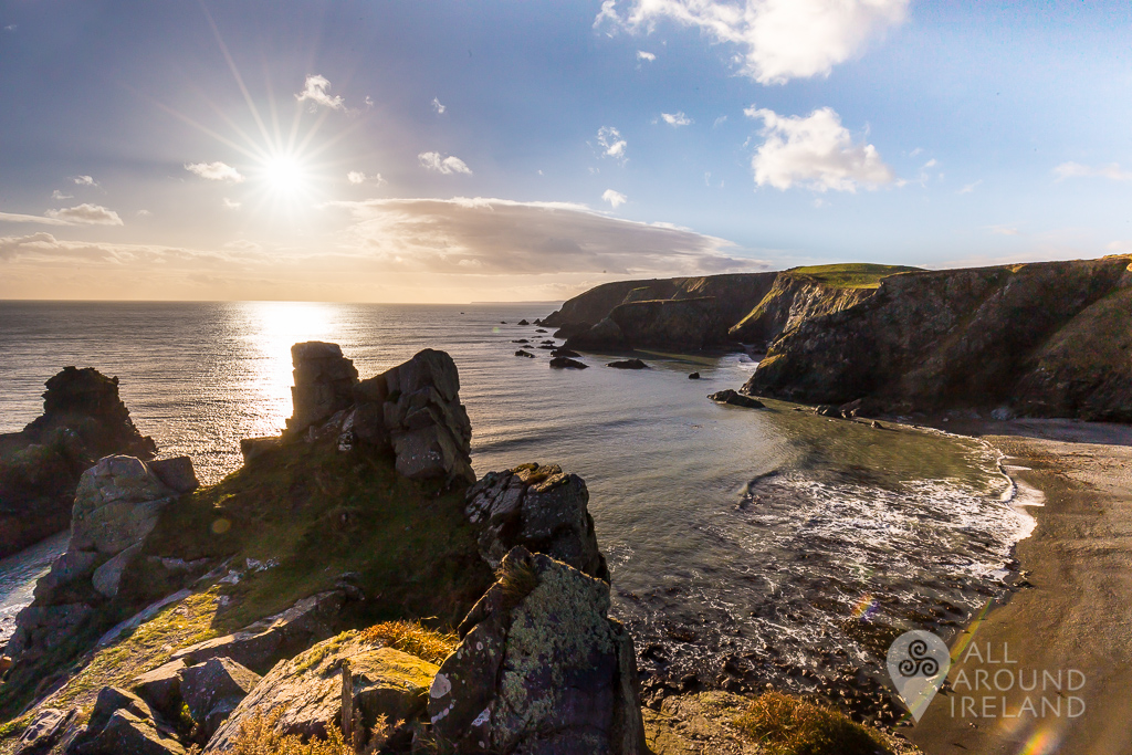 View from Tra Na mBó on the Copper Coast, Waterford