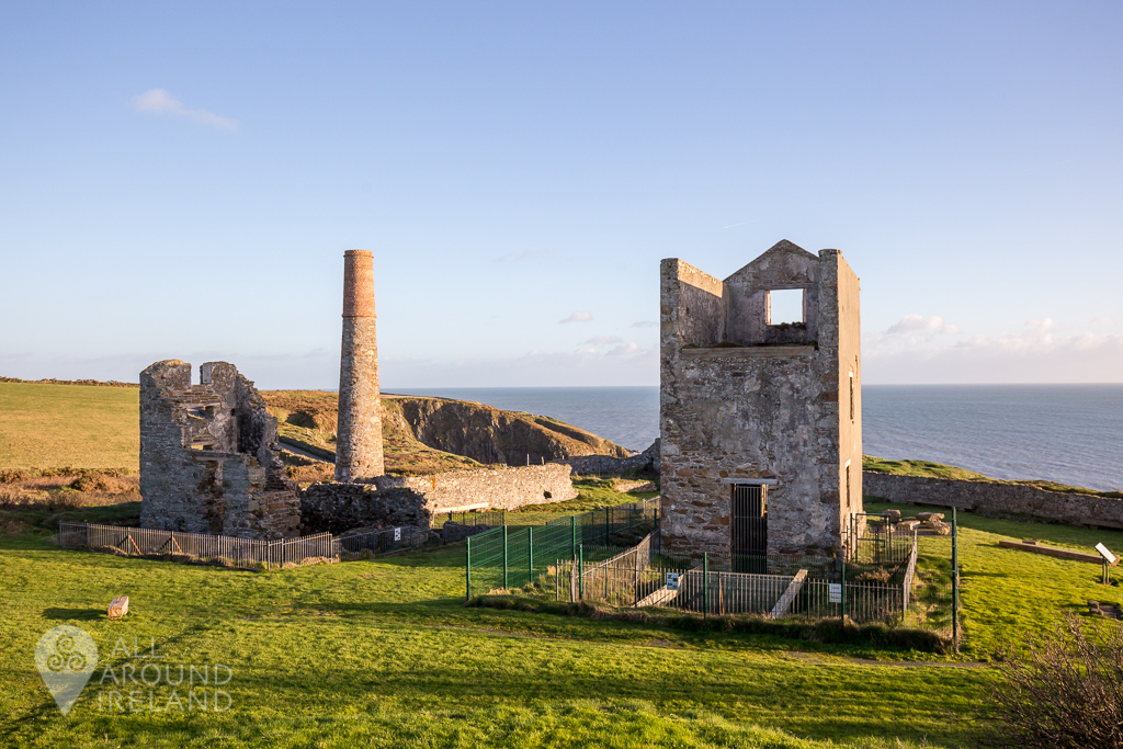 Abandoned Mine at Tankardstown on the Copper Coast, Waterford