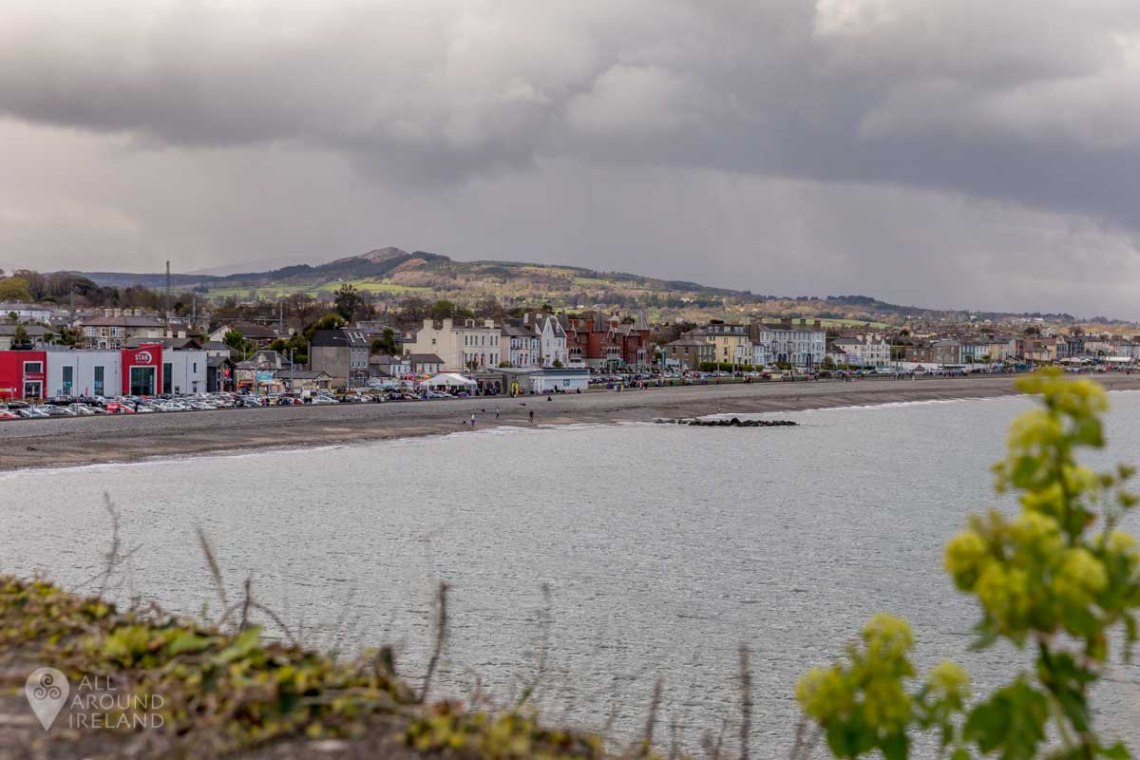 View of Bray from the cliff walk