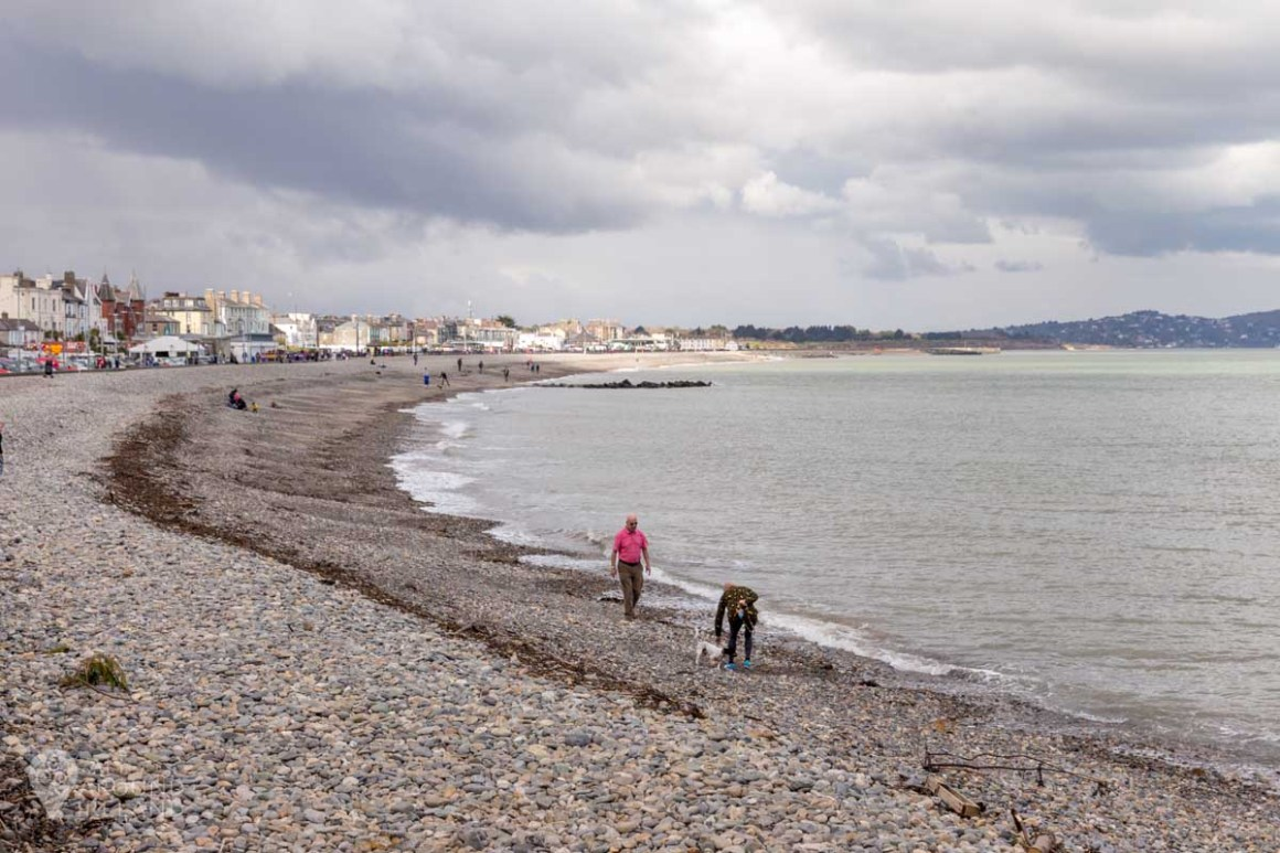 The beach at Bray, county wicklow
