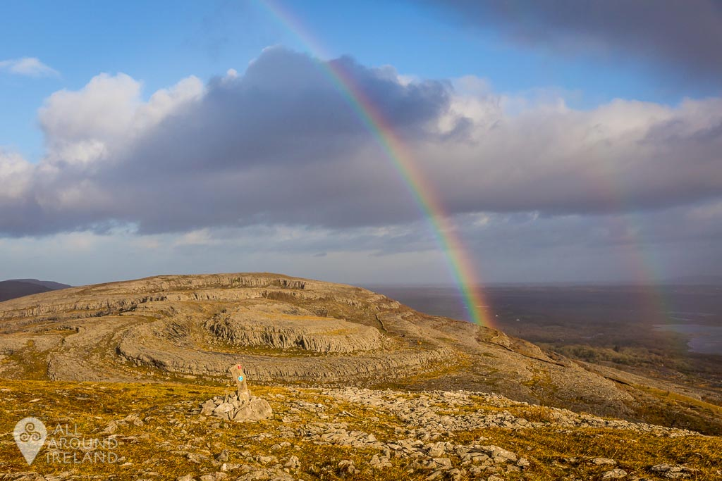 Double Rainbow in the Burren, County Clare