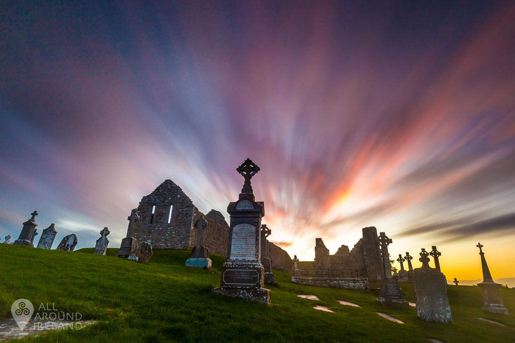Clonmacnoise monastic site in Offaly