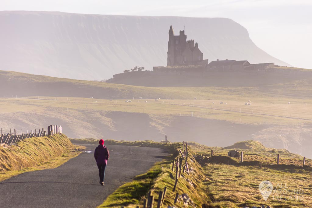 Incredible scenes along the coast road to Mullaghmore, Sligo.