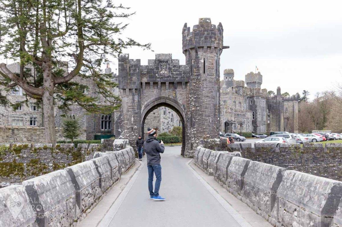 Admiring Ashford Castle