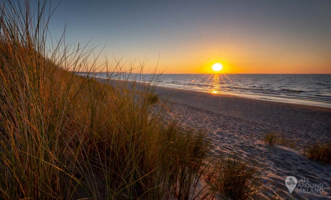 Sunrise on Curracloe Beach, Wexford