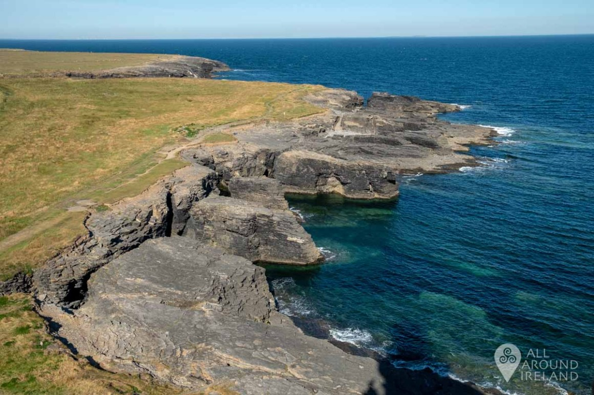 View from Hook lighthouse, Hook peninsula.