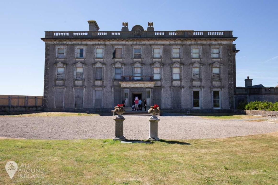 Loftus Hall, Ireland's most haunted house. Hook peninsula.