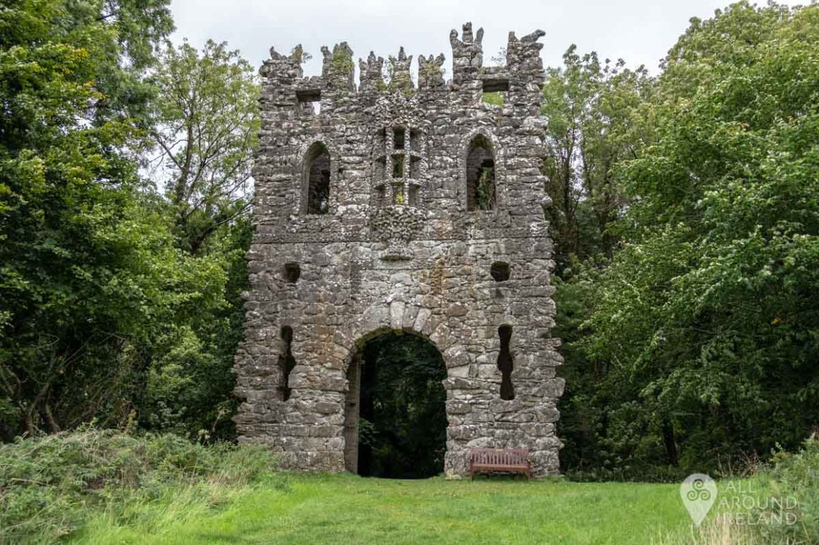 The Gothic Arch at Belvedere House and Estate