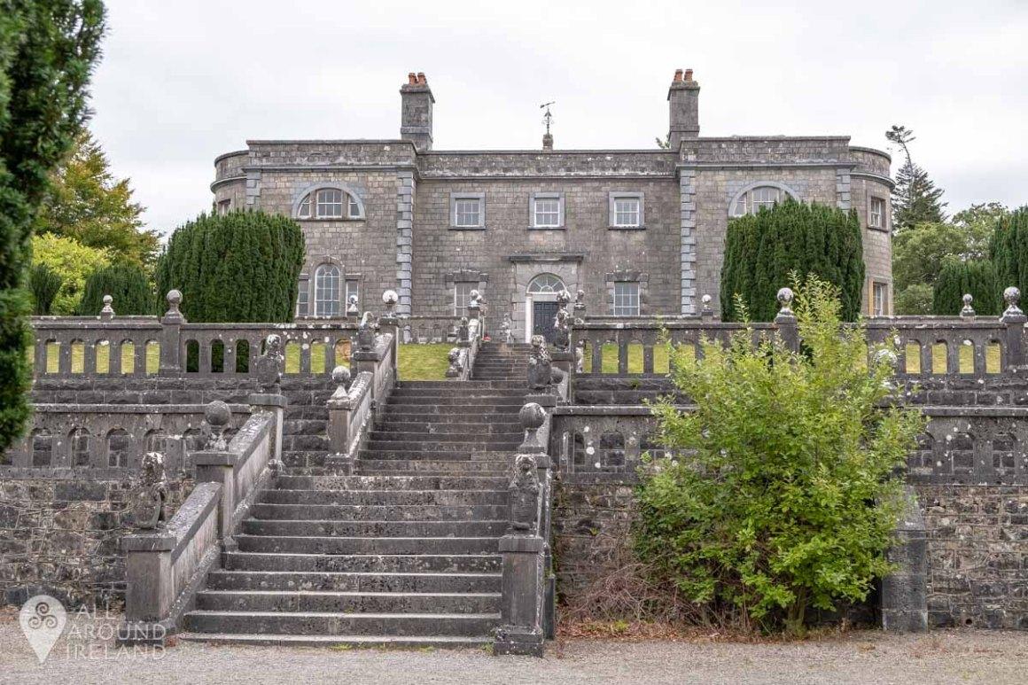 Belvedere House and terraced garden.
