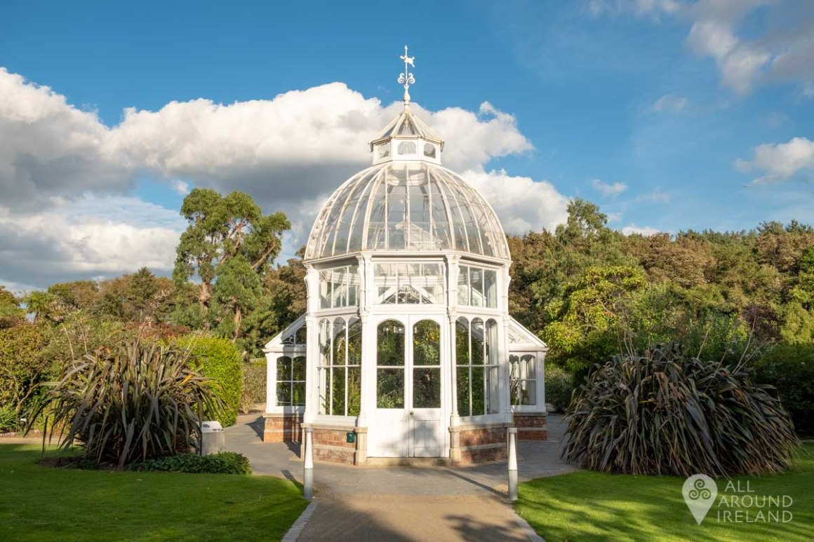 The Victorian Conservatory in the Walled Garden at Malahide Castle