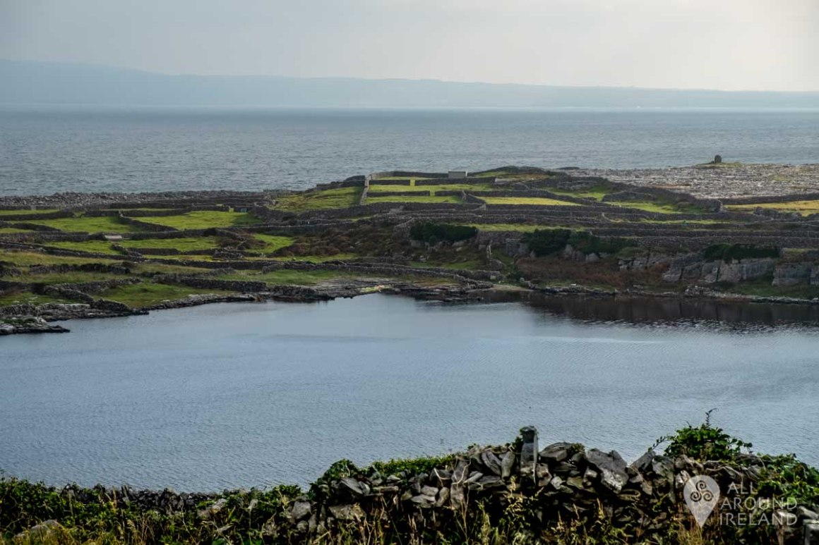 Loch Mor (Big Lake) - the only freshwater lake on Inis Oirr