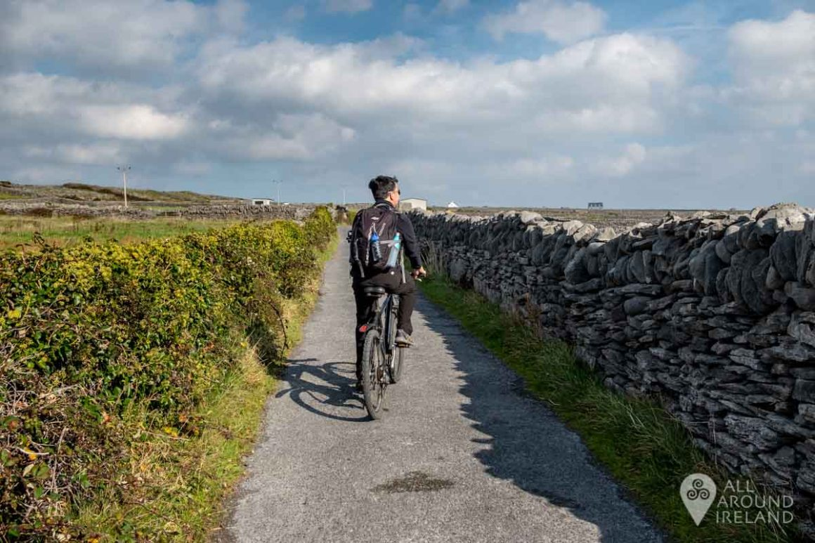 Cycling is a great way to get around the Aran Islands