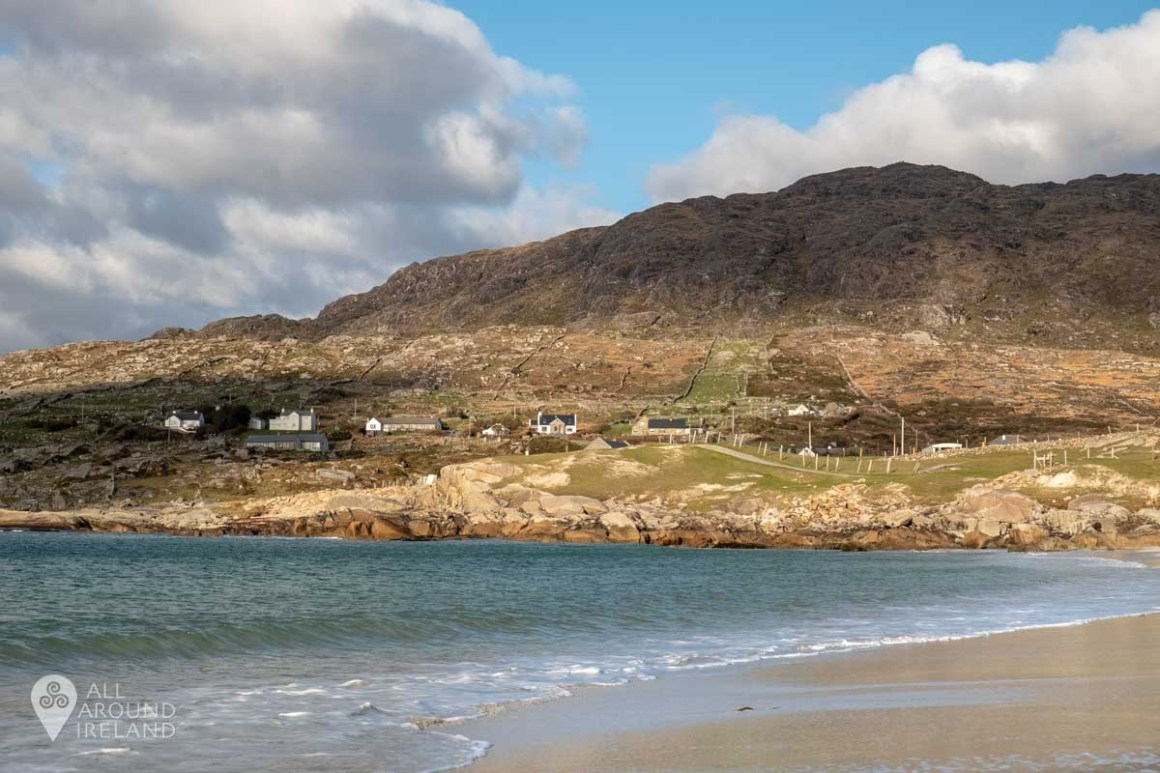 Looking towards Errisbeg mountain from Dog's Bay