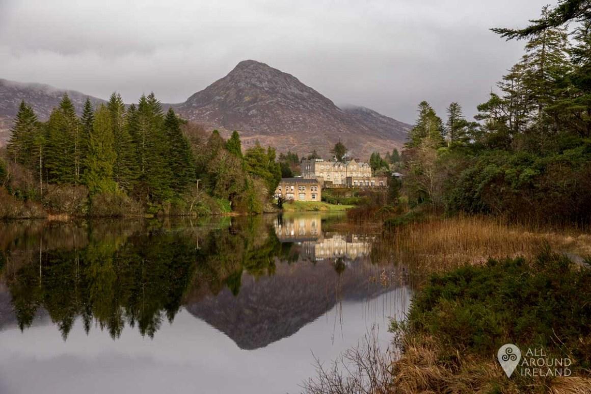 Stunning reflections at Ballynahinch Hotel