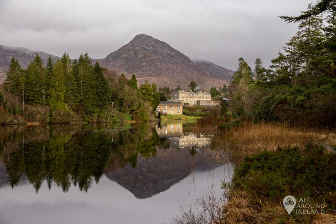 Stunning reflections at Ballynahinch Hotel