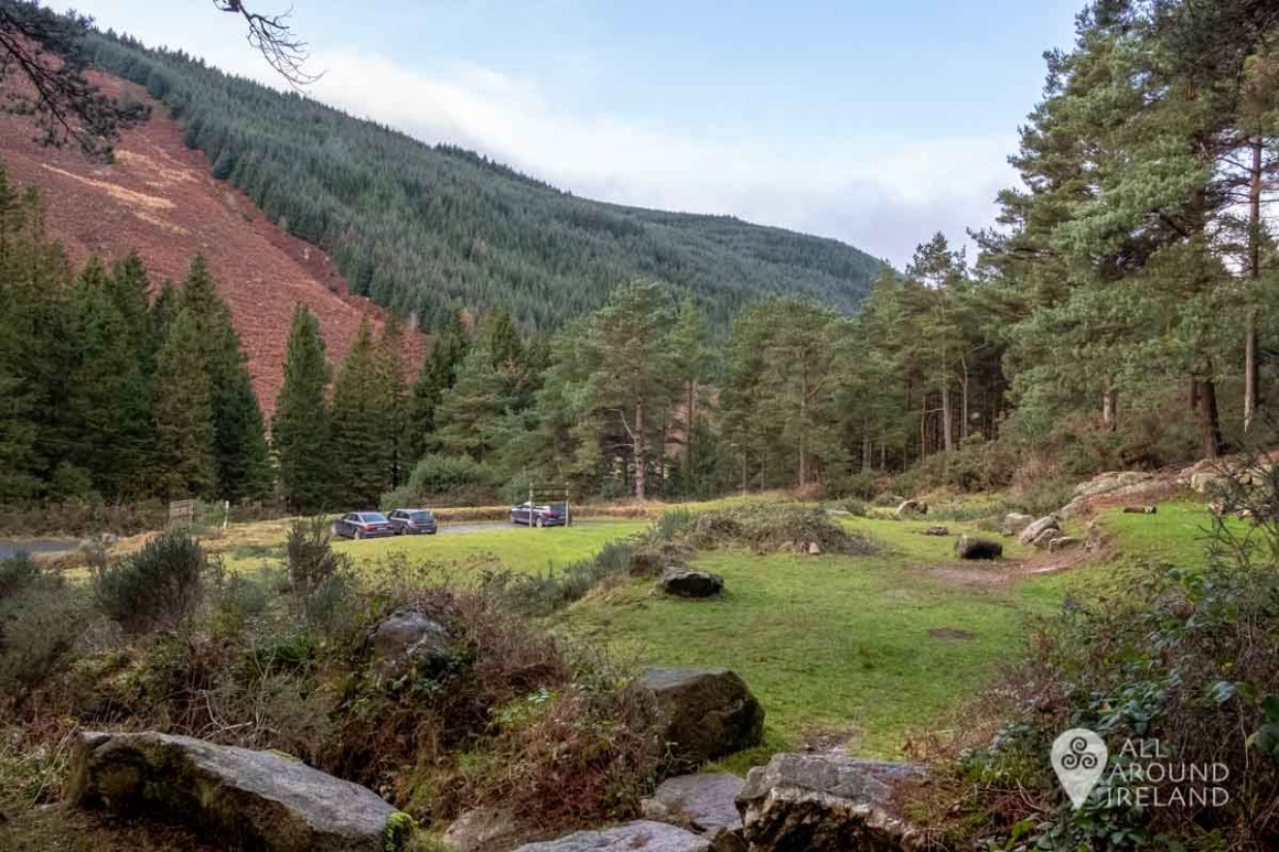 View across the valley from the start of the Miner's Path