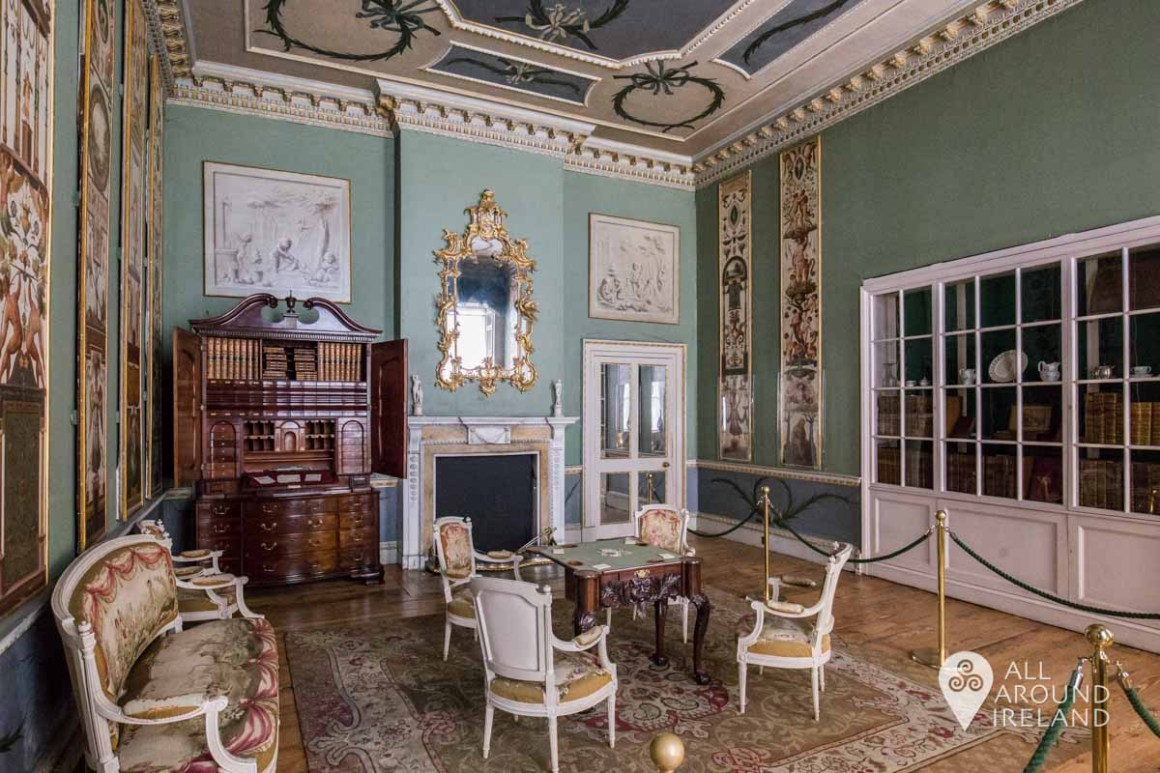 The Boudoir was part of Lady Louisa's private apartment.
