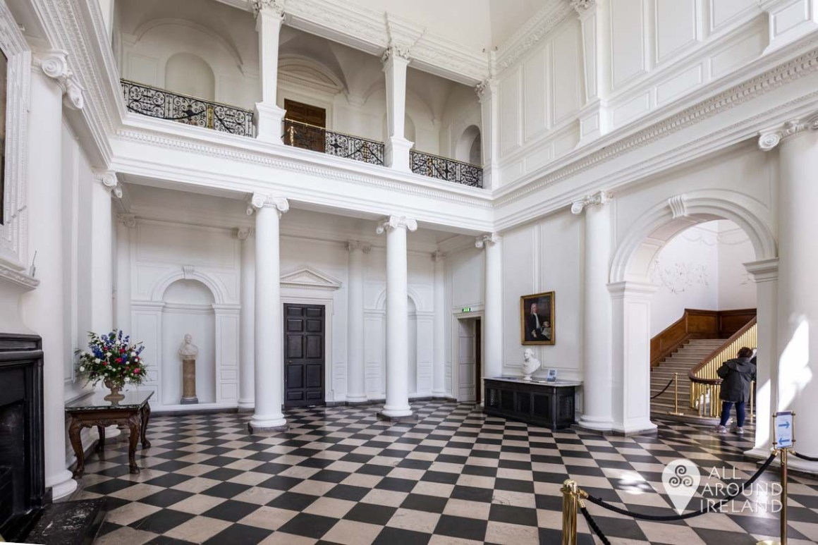 The Entrance Hall at Castletown House