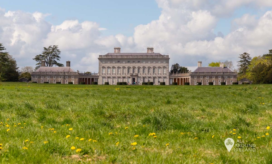 Castletown House from the parklands