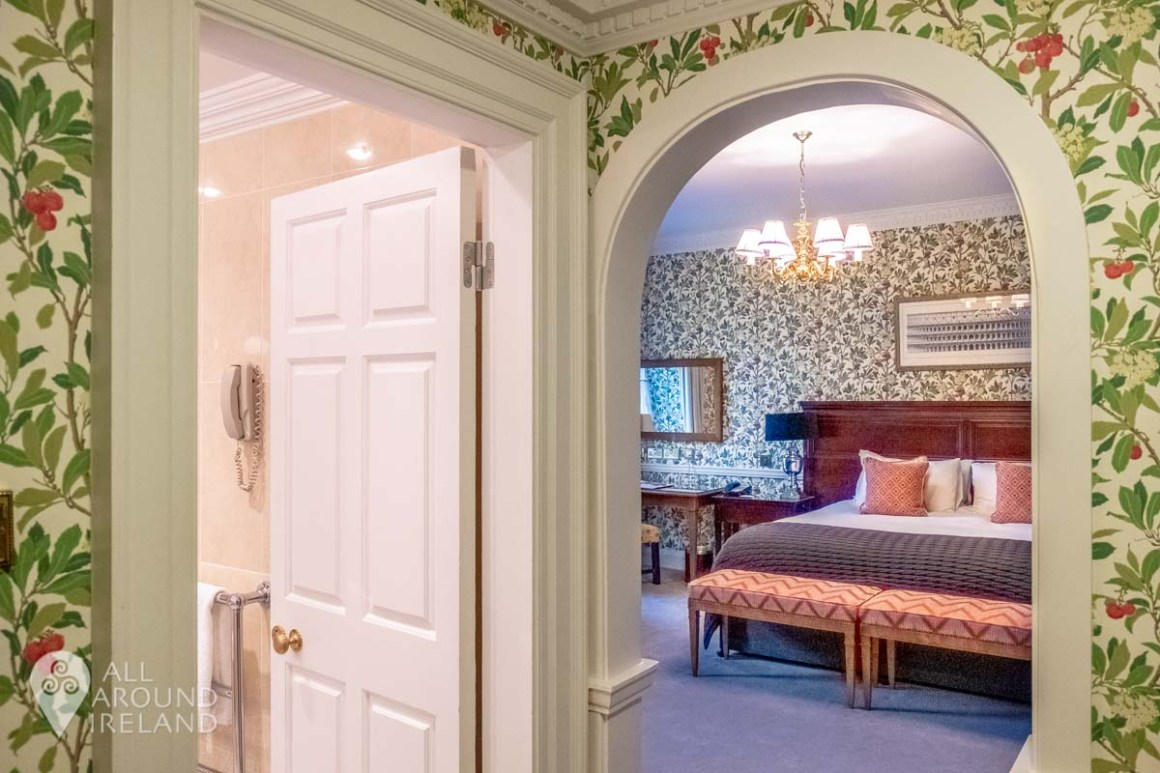 Our room in the Manor House at Mount Juliet Estate