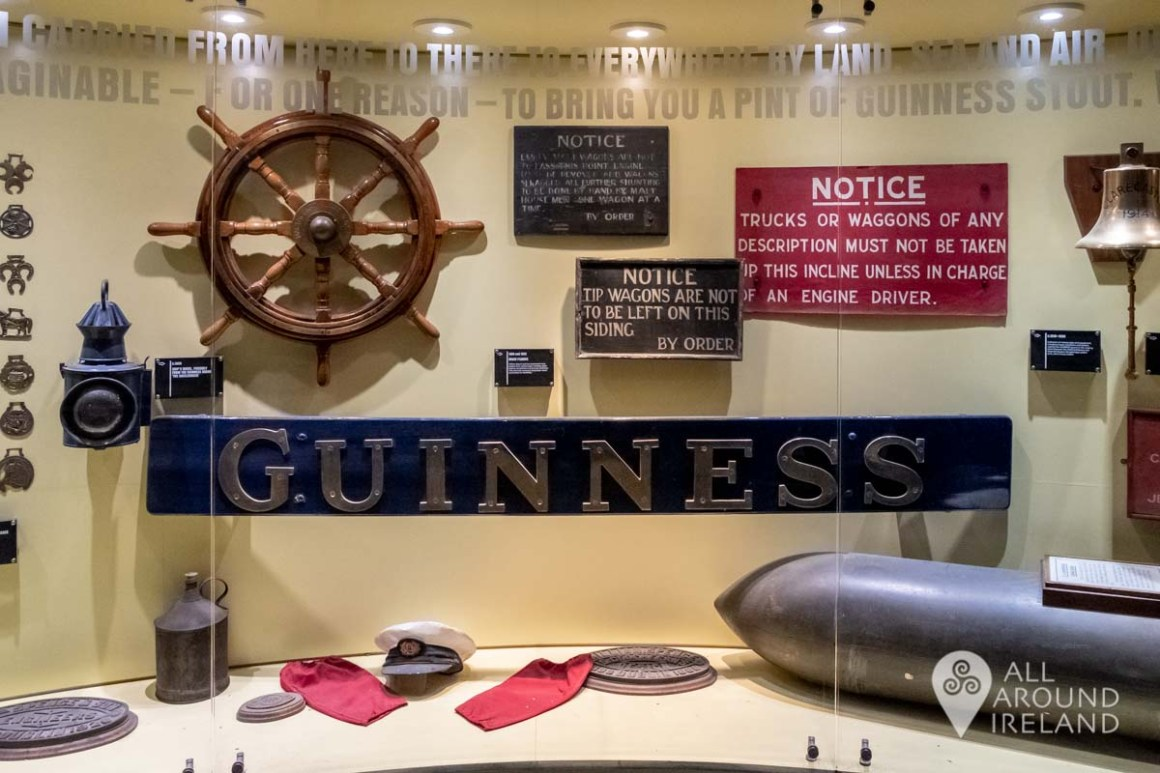 Artefacts related to the ships and boats which transported Guinness around the world