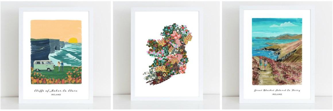 Prints from Hairy Fruit Art - Irish Gift Ideas 2019
