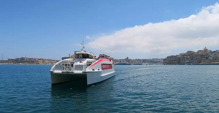 Die Three Cities Fähre auf Malta.
