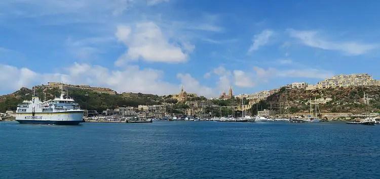 Der Hafen vom Mgarr auf Maltas Nachbarinsel Gozo.