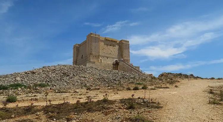 Der St. Mary´s Tower ist eine rechteckige Festung auf dem höchsten Punkt der Insel.