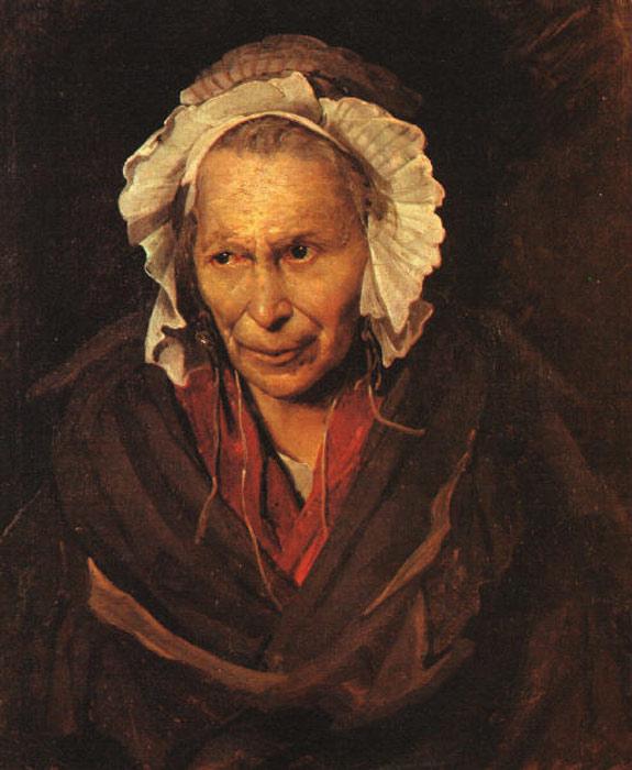 Madwoman (Jean Louis Andre Theodore Gericault 1822)