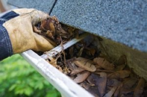 Maintaining your gutters and downspouts will help to keep moisture from building up in your home.