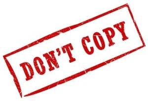 Dont copy